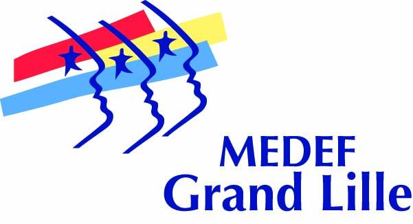 LOGO MEDEF Grand Lille (En tête)