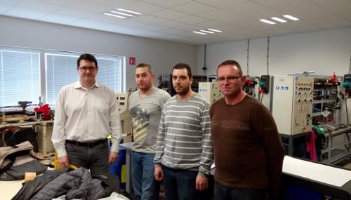 es salariés formés au poste de monteur régleur en plasturgie par Alliance Emploi.